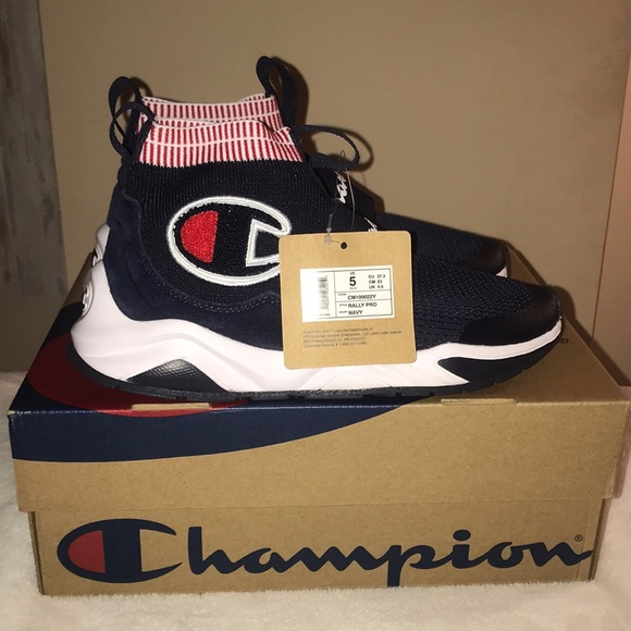 965e6180f Champion Rally Pro Sneakers in Navy